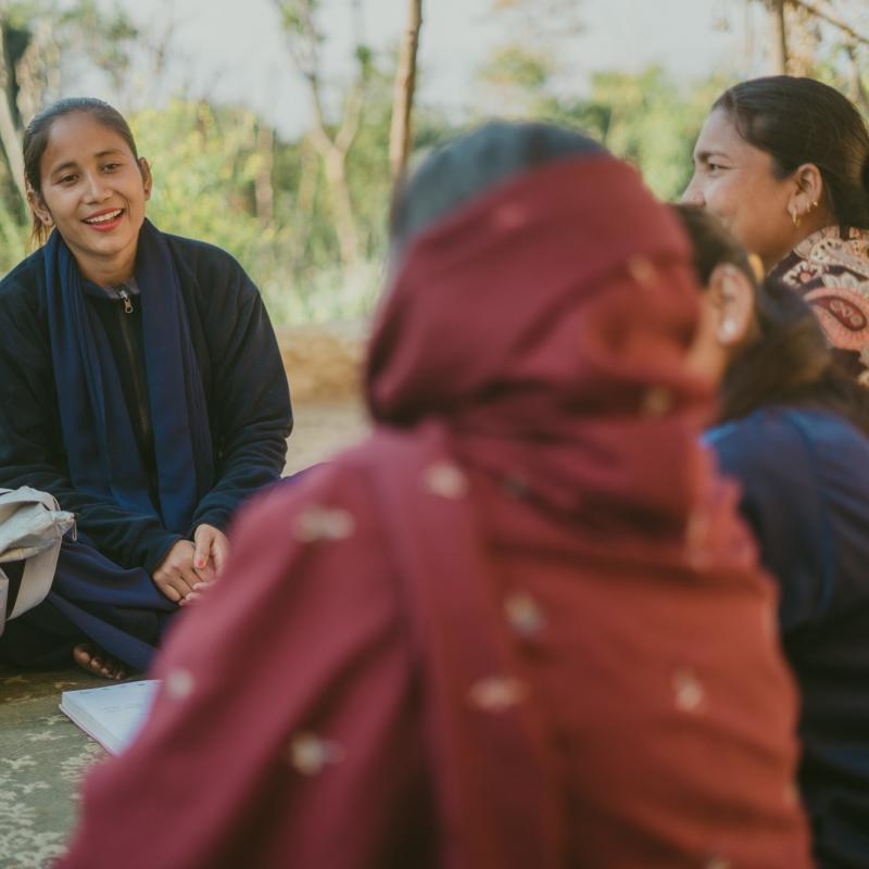 VSO community volunteer Laxmi in Nepal