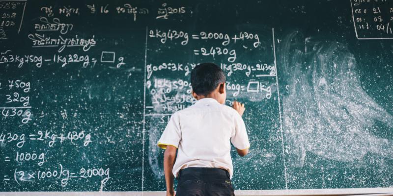 Basic English Learning project Cambodia
