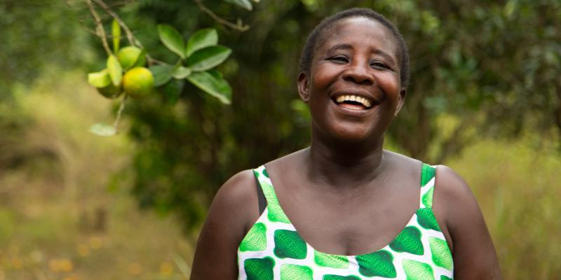 Juliana Aboaagyewa, cocoa farmer in Ghana | VSO