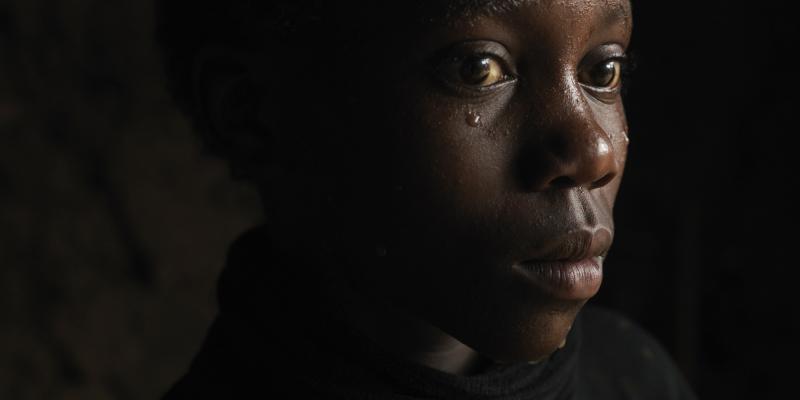 Out-of-school girl in Uganda