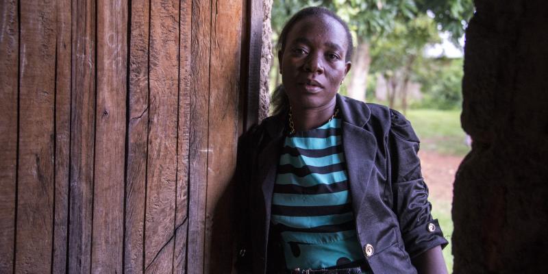 Teacher Isabella in Kenya