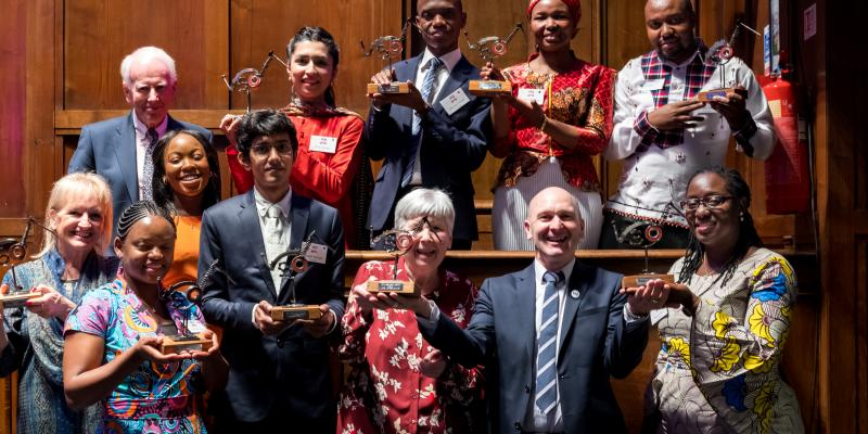 Winners of the Volunteer Impact Awards 2018