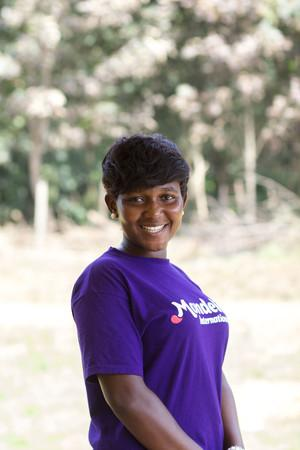 Evelyn Okorley worked with rural cocoa communities in Ghana in 2017.