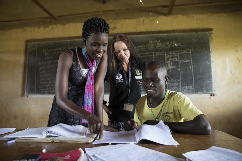 VSO volunteer Karen Gartner Uganda