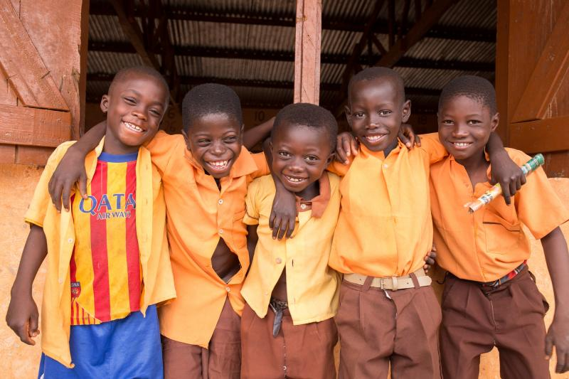 Primary school pupils in Ghana | VSO