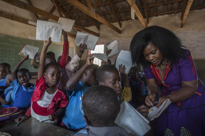 Teacher Grace in Malawi