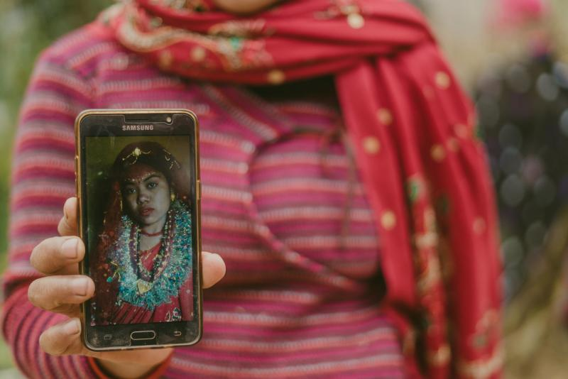 Arranged marriage forced marriage bride in Nepal
