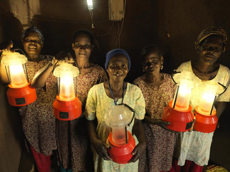 VSO's solar mamas in Malawi