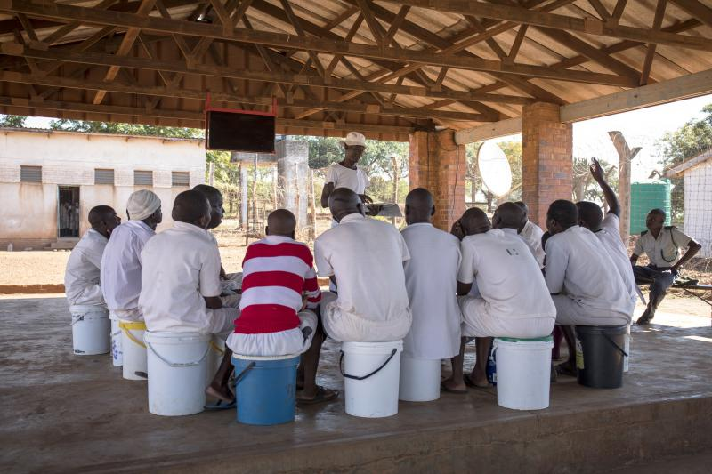 HIV support group in Zimbabwe group