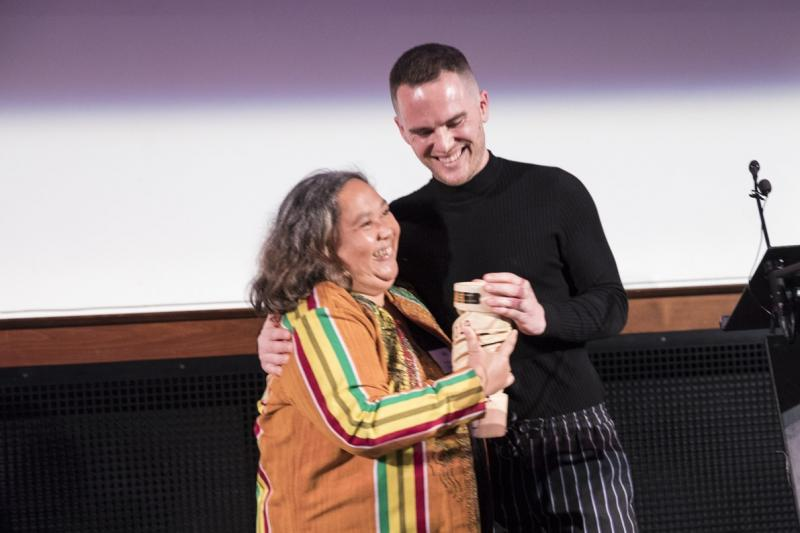 Ruby Yap was recognised for her work establishing an NGO in Ghana
